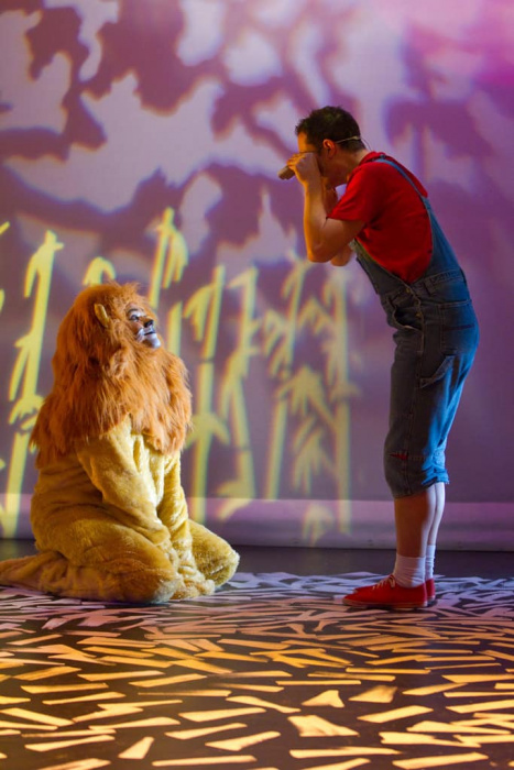A Lion in the Meadow 006