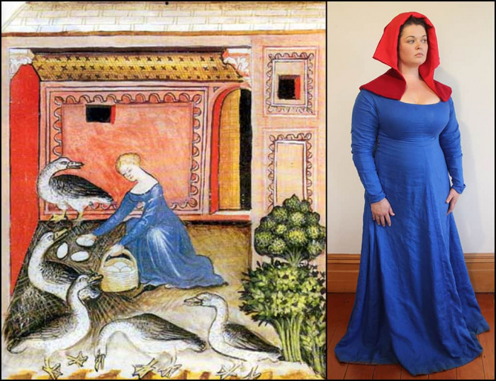 1390's French or Italian dress (2013)